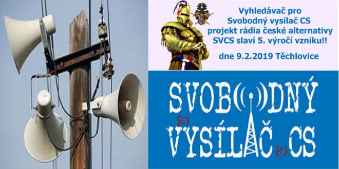 SVCS Svobodný vysílač CS,vyhledávač Svobodný vysílač CS pro nejlepší lidi